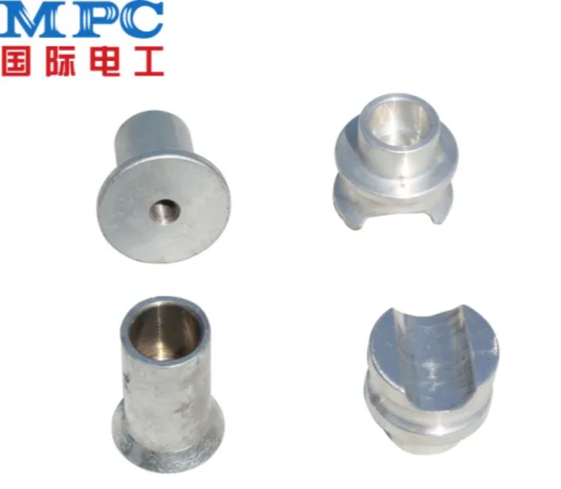Steel Cap-Foot Fitting Electric Power Fitting Accessories for Insulator